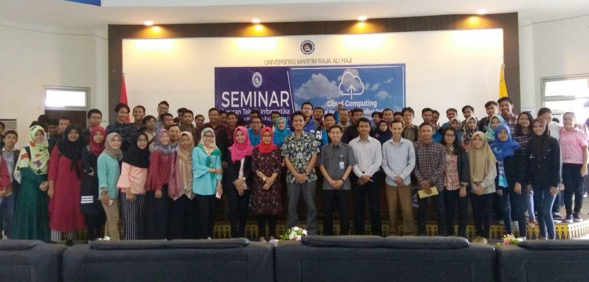 Mencari Solusi untuk permasalahan Maritim dengan Cloud Computing | Seminar Jurusan Teknik Informatika Umrah