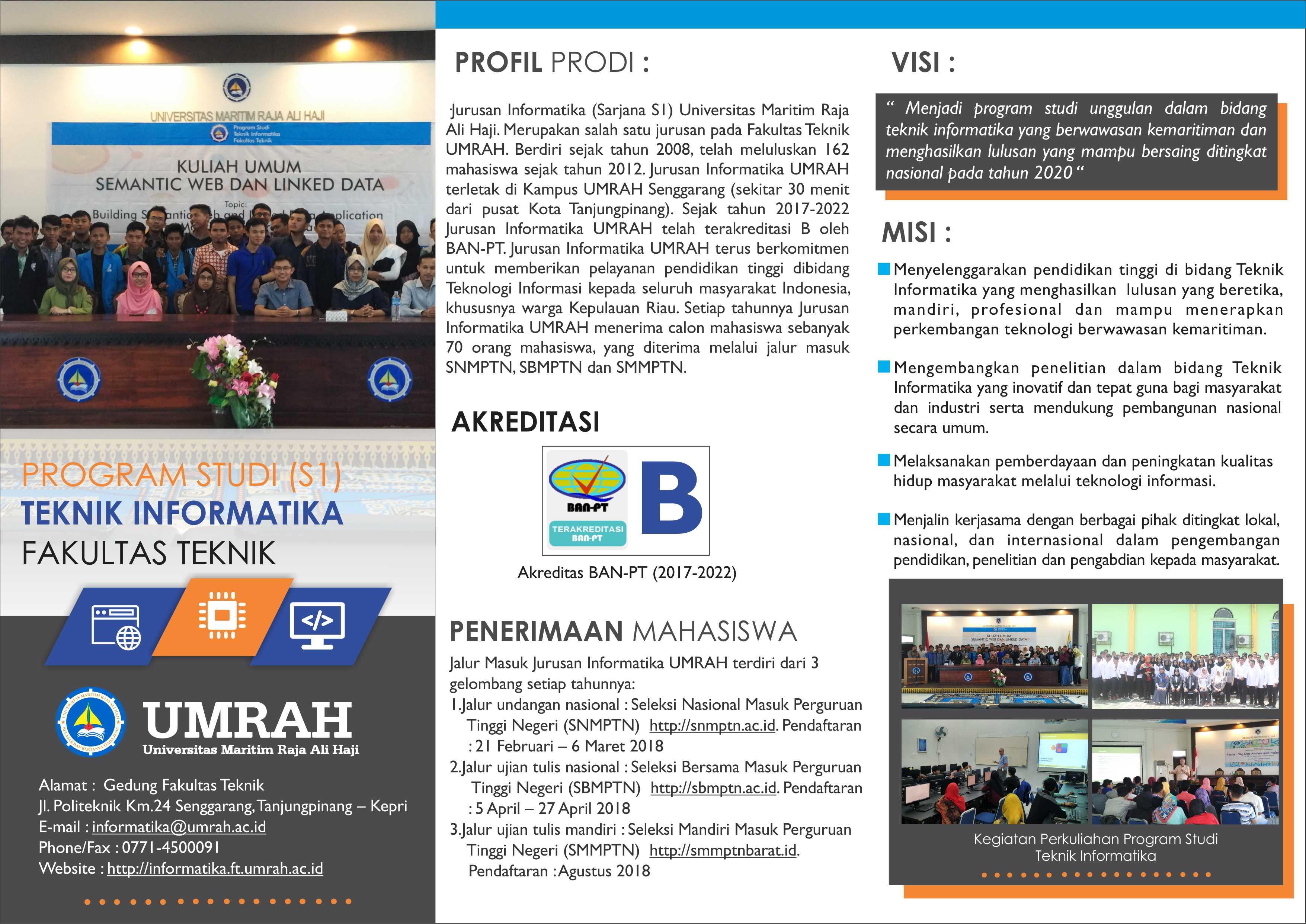 Let's Join Us: Teknik Informatika UMRAH